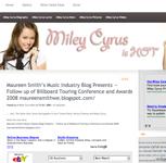Miley Cyrus.com Maureen Smith\